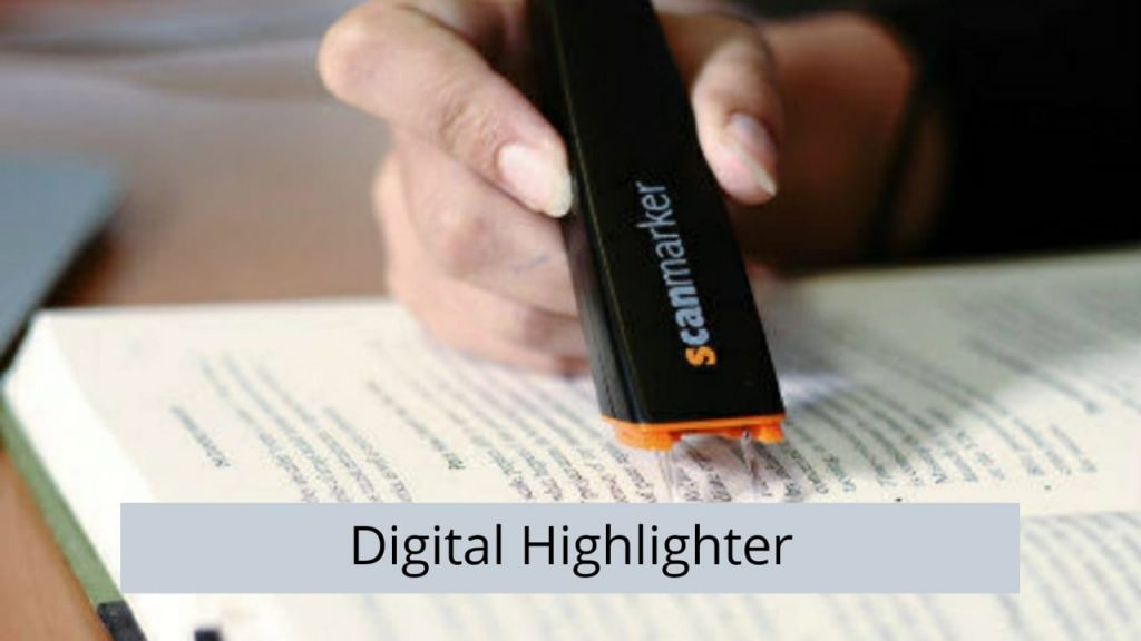 digital highlighter
