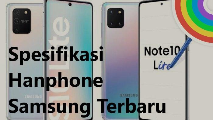 Spesifikasi Hanphone Samsung Terbaru